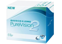 Силикон-гидрогелевые линзы Bausch & Lomb Pure Vision 2