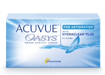 Астигматические линзы Johnson & Johnson ACUVUE® OASYS for ASTIGMATISM