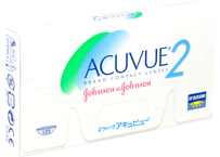 Гидрогелевые линзы Johnson & Johnson Acuvue 2