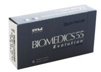 Гидрогелевые линзы Cooper Vision Biomedics Evolution 55