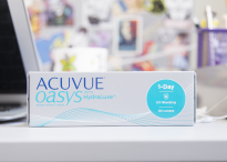 Однодневные линзы Johnson & Johnson ACUVUE OASYS® 1-Day with HydraLuxe®