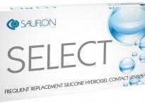 Силикон-гидрогелевые линзы Sauflon Select