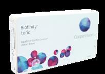 Астигматические линзы Cooper Vision Biofinity Toric