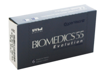 Гидрогелевые линзы Cooper Vision Biomedics Evolution 55 sale