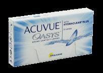 Силикон-гидрогелевые линзы Johnson & Johnson Acuvue Oasys